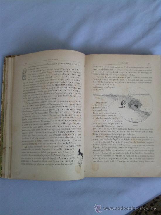 Libros antiguos: Viaje por el nilo.1890 E.gonzebach y r.mainella 331 paginas montaner y simon editores - Foto 5 - 38694479