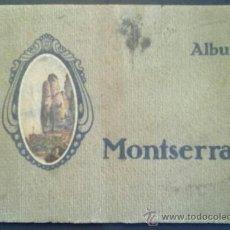 Libros antiguos: ALBUM MONTSERRAT. 164 VISTAS. EN SEIS IDIOMAS. FOTOS ZERKOWITZ. Lote 39260267