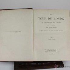 Libros antiguos: 6088 - LE TOUR DU MONDE. EDOUARD CHARTON. EDIT. HACHETTE. 2 VOL. 1887 / 1894.. Lote 39403674
