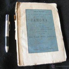 Libros antiguos: BREVE NOTICIA SOBRE ALGUNAS ANTIGUEDADES DE LA CIUDAD DE ZAMORA. TOMAS MARIA GARNACHO 1878. INTONSO. Lote 39511185