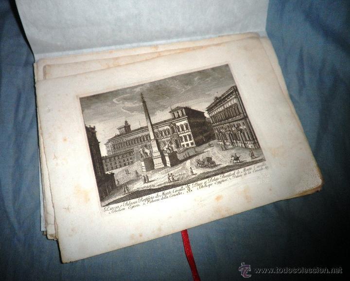 Libros antiguos: EXCEPCIONAL COLECCION DE 23 ANTIGUAS LAMINAS DEL SIGLO XVIII SOBRE ITALIA. - Foto 4 - 39499260