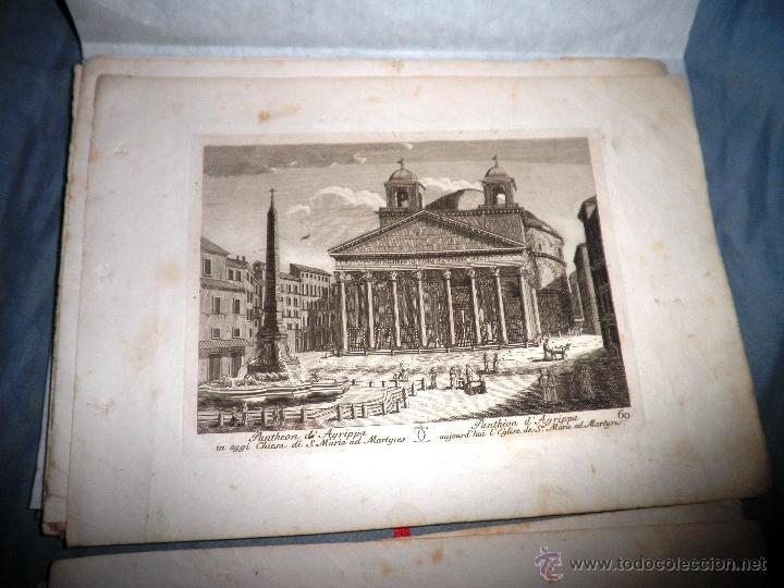Libros antiguos: EXCEPCIONAL COLECCION DE 23 ANTIGUAS LAMINAS DEL SIGLO XVIII SOBRE ITALIA. - Foto 8 - 39499260