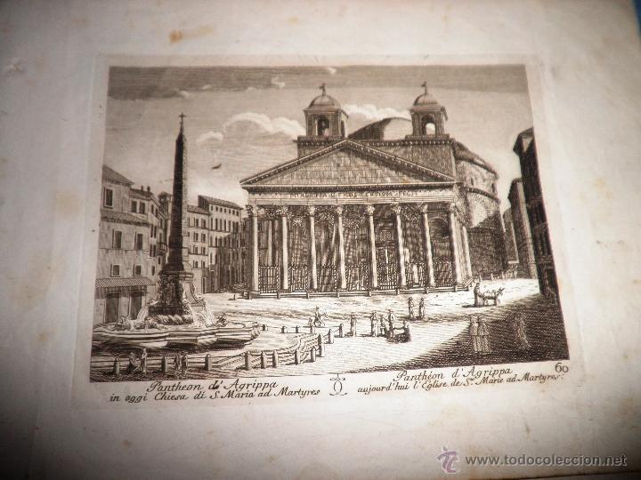 Libros antiguos: EXCEPCIONAL COLECCION DE 23 ANTIGUAS LAMINAS DEL SIGLO XVIII SOBRE ITALIA. - Foto 9 - 39499260