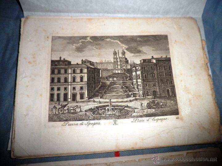 Libros antiguos: EXCEPCIONAL COLECCION DE 23 ANTIGUAS LAMINAS DEL SIGLO XVIII SOBRE ITALIA. - Foto 10 - 39499260