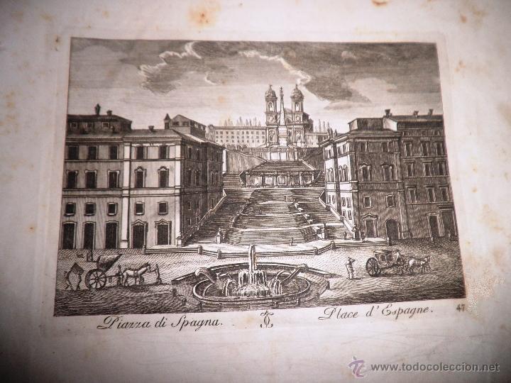 Libros antiguos: EXCEPCIONAL COLECCION DE 23 ANTIGUAS LAMINAS DEL SIGLO XVIII SOBRE ITALIA. - Foto 11 - 39499260