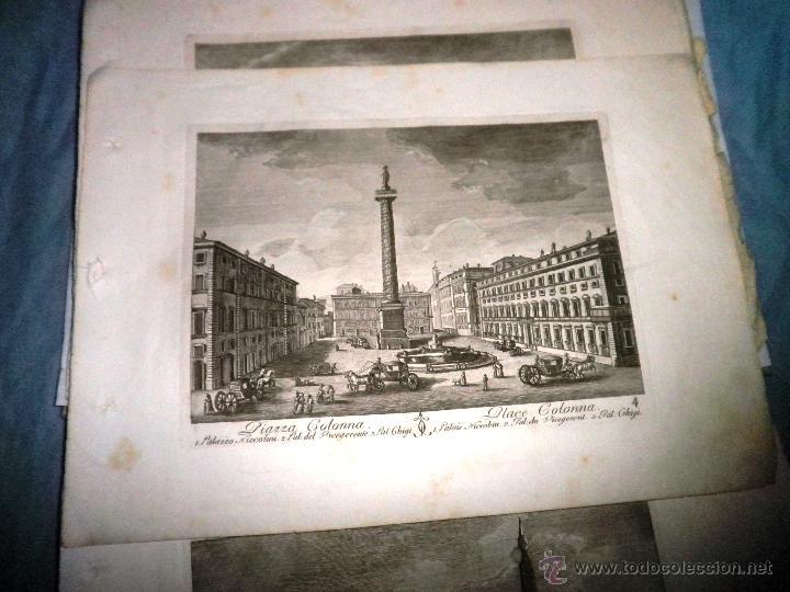 Libros antiguos: EXCEPCIONAL COLECCION DE 23 ANTIGUAS LAMINAS DEL SIGLO XVIII SOBRE ITALIA. - Foto 12 - 39499260