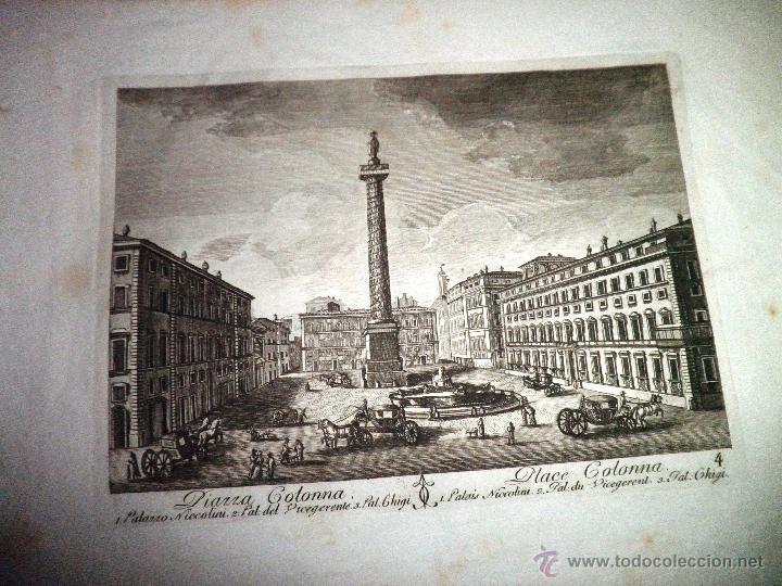 Libros antiguos: EXCEPCIONAL COLECCION DE 23 ANTIGUAS LAMINAS DEL SIGLO XVIII SOBRE ITALIA. - Foto 13 - 39499260