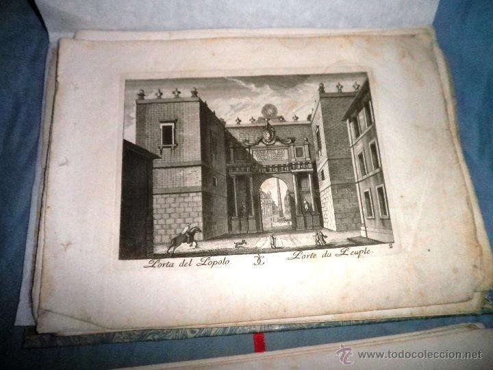 Libros antiguos: EXCEPCIONAL COLECCION DE 23 ANTIGUAS LAMINAS DEL SIGLO XVIII SOBRE ITALIA. - Foto 14 - 39499260