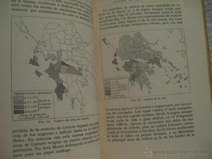 Libros antiguos: Geografía del mediterráneo griego, Otto Maull Ed. Labor. Se.VII;C. Geo. Nº171.(ÑÑ4 - Foto 5 - 39665423