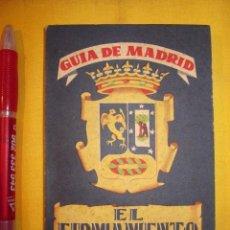 Libros antiguos: GUIA DE MADRID EL FIRMAMENTO. Lote 40008025