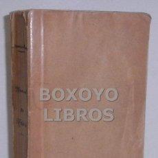 Libros antiguos: MESONERO ROMANOS, RAMÓN. NUEVO MANUAL HISTÓRICO-TOPOGRÁFICO-ESTADÍSTICO Y DESCRIPCIÓN DE MADRID. Lote 41016808