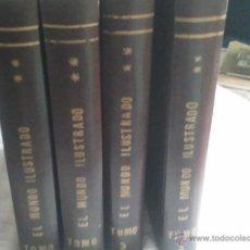 Libros antiguos: EL MUNDO ILUSTRADO - CUATRO TOMOS (1879/1880) MILES DE GRABADOS Y LÁMINAS EN COLOR . Lote 41260663