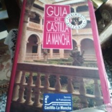 Libros antiguos: GUIA DE CASTILLA LA MANCHA.PATRIMONIO HISTORICO.SERVICIO DE PUBLICACIONES DE LA COMUNIDAD DE CASTILL. Lote 41287687