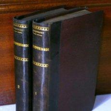 Libros antiguos: CORRESPONDANCE 2T POR VICTOR JACQUEMONT DE H. DUMONT LIBRAIRE EDITEUR EN BRUXELLES 1834. Lote 41495278