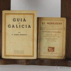Libros antiguos: D-120. COLECCION DE 12 GUIAS DE DIFERENTES EDITORIALES Y AUTORES. VER DESCRIPCION. S. XX. . Lote 41849365
