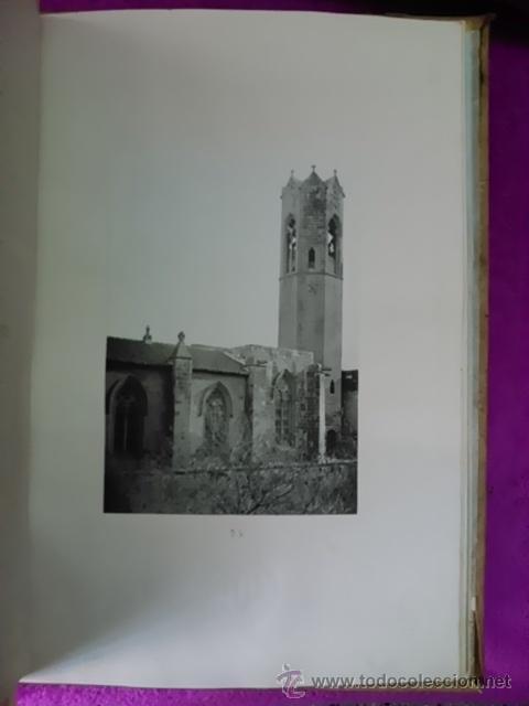 Libros antiguos: ALBUM PINTORESCH MONUMENTAL DE CATALUNYA (PRIMERA OBRA DE EXCURSIONISME AL MON DE CATALUNYA) 1878 - Foto 7 - 42266937