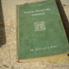 Libros antiguos: LIBRO NUEVA GEOGRAFIA UNIVERSAL R. BALLESTER 4ª ED. 1ª PARTE 1929 BARCELONA L.1405-1121. Lote 43049652