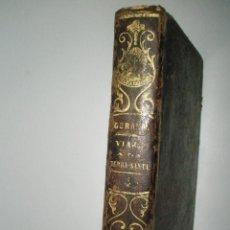 Libros antiguos: GARAMB,P.M.J. DE: LA TIERRA SANTA, EL MONTE LÍBANO, EL EGIPTO Y MONTE SINAÍ. TOMO IV. 1851. Lote 43140863