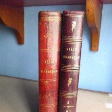Libros antiguos: 1864 VIAJE DRAMATICO AL REDEDOR DEL MUNDO DOS TOMOS OBRA COMPLETA. Lote 43152625
