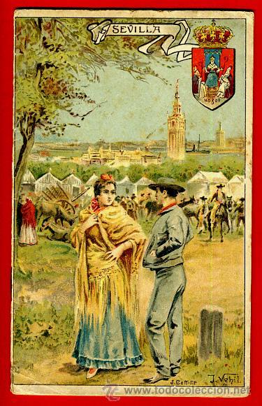 FOLLETO SEVILLA , GEOGRAFIA POPULAR DE ESPAÑA 8 , CON ILUSTRACIONES, 1916 ,ORIGINAL ,BO (Libros Antiguos, Raros y Curiosos - Geografía y Viajes)
