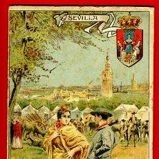 Libros antiguos: FOLLETO SEVILLA , GEOGRAFIA POPULAR DE ESPAÑA 8 , CON ILUSTRACIONES, 1916 ,ORIGINAL ,BO. Lote 43584300
