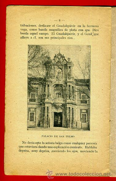 Libros antiguos: FOLLETO SEVILLA , GEOGRAFIA POPULAR DE ESPAÑA 8 , CON ILUSTRACIONES, 1916 ,ORIGINAL ,BO - Foto 4 - 43584300