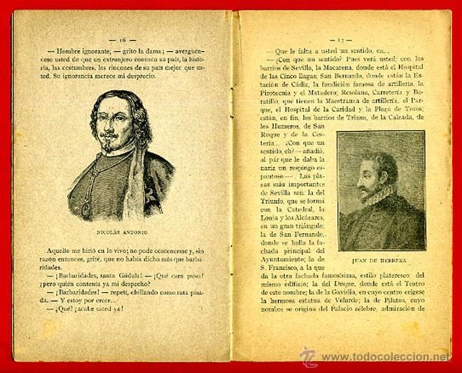 Libros antiguos: FOLLETO SEVILLA , GEOGRAFIA POPULAR DE ESPAÑA 8 , CON ILUSTRACIONES, 1916 ,ORIGINAL ,BO - Foto 5 - 43584300