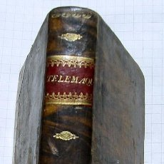 Libros antiguos: LES AVENTURES DE TELEMAQUE..- FENELON - MADRID 1822. Lote 43985801