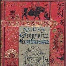 Libros antiguos: NUEVA GEOGRAFÍA UNIVERSAL, ELISEO RECLUS, TOMO II, MADRID EL PROGRESO EDITORIAL 1889. Lote 45510395