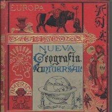 Libros antiguos: NUEVA GEOGRAFÍA UNIVERSAL, ELISEO RECLUS, TOMO II, MADRID EL PROGRESO EDITORIAL 1889. Lote 45510416