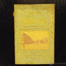 Libros antiguos: NOTICIERO GUIA MADRID 1907, VICENTE CASTRO LES. Lote 45651419