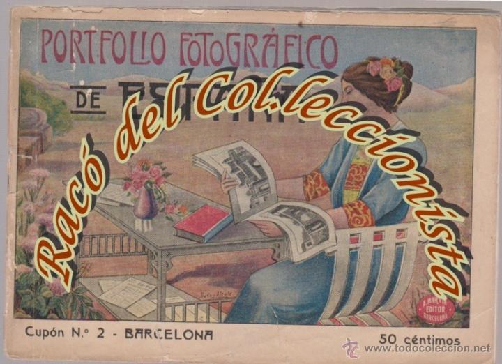PORTFOLIO FOTOGRAFICO DE ESPAÑA, CUPON N. 2 BARCELONA, ALBERTO MARTIN EDITOR, HACIA 1915 (Libros Antiguos, Raros y Curiosos - Geografía y Viajes)