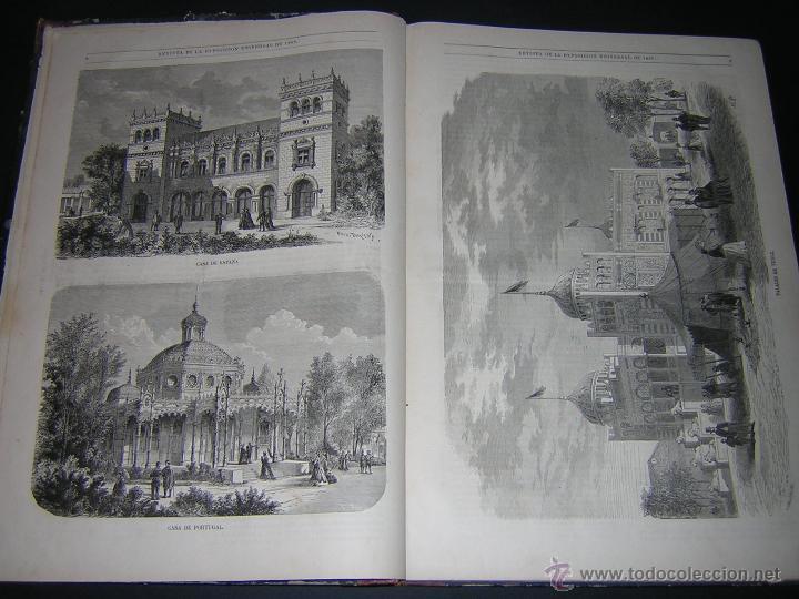 Libros antiguos: 1867 - JOSE CASTRO Y SERRANO - ESPAÑA EN PARÍS, REVISTA DE LA EXPOSICIÓN UNIVERSAL DE 1867 - Foto 4 - 46641680