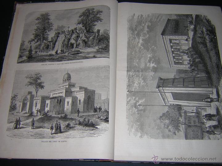 Libros antiguos: 1867 - JOSE CASTRO Y SERRANO - ESPAÑA EN PARÍS, REVISTA DE LA EXPOSICIÓN UNIVERSAL DE 1867 - Foto 5 - 46641680