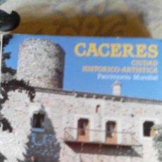 Libros antiguos: CÁCERES. CIUDAD HISTÓRICO-ARTÍSTICA. PATRIMONIO MUNDIAL, 1979. Lote 46651716