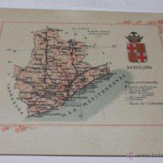 Libros antiguos: PORTFOLIO FOTOGRAFICO DE ESPAÑA. BARCELONA 2 HOJAS DE TEXTO, 1 MAPA Y 16 FOTOGRAFÍAS. AÑOS 30. FALTO. Lote 46665522