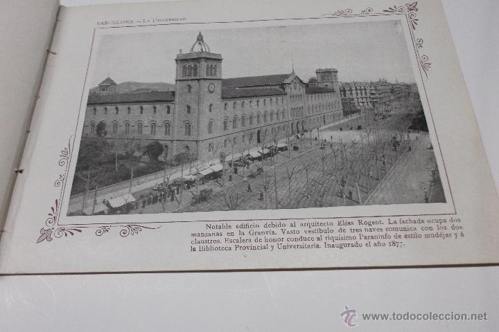 Libros antiguos: PORTFOLIO FOTOGRAFICO DE ESPAÑA. BARCELONA 2 HOJAS DE TEXTO, 1 MAPA Y 16 FOTOGRAFÍAS. AÑOS 30. FALTO - Foto 3 - 46665522