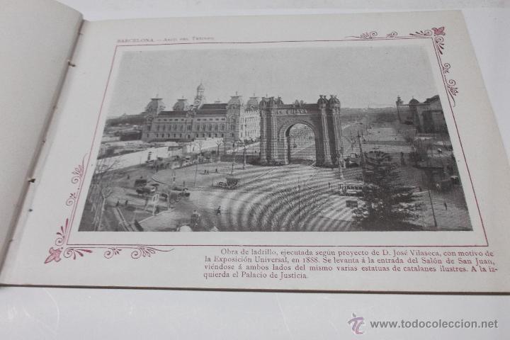 Libros antiguos: PORTFOLIO FOTOGRAFICO DE ESPAÑA. BARCELONA 2 HOJAS DE TEXTO, 1 MAPA Y 16 FOTOGRAFÍAS. AÑOS 30. FALTO - Foto 4 - 46665522