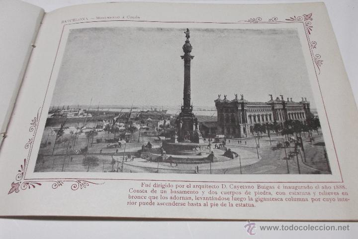 Libros antiguos: PORTFOLIO FOTOGRAFICO DE ESPAÑA. BARCELONA 2 HOJAS DE TEXTO, 1 MAPA Y 16 FOTOGRAFÍAS. AÑOS 30. FALTO - Foto 5 - 46665522