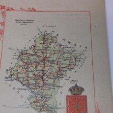 Libros antiguos: PORTFOLIO FOTOGRAFICO DE ESPAÑA. NAVARRA. 4 HOJAS DE TEXTO, 1 MAPA Y 16 FOTOGRAFÍAS. AÑOS 30. FALTO . Lote 46690857