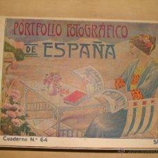 Libros antiguos: PORTFOLIO FOTOGRÁFICO DE ESPAÑA. CUADERNO Nº 64 SEVILLA. CIRCA 1915. MAPA Y FOTOS. Lote 46697803
