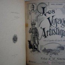 Libros antiguos: ABBÉ JOUSSET. LES VOYAGES ARTISTIQUES, ROME. Lote 46782834
