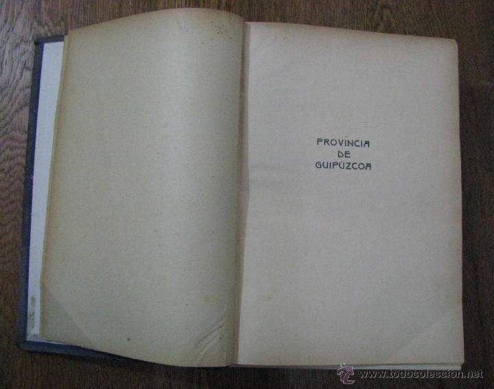 Libros antiguos: ANTIGUA GEOGRAFIA GRAL PAIS VASCO NAVARRO GUIPUZCOA SERAPIO MUGICA ALBERTO MARTIN BARCELONA C 1900 - Foto 5 - 47058113
