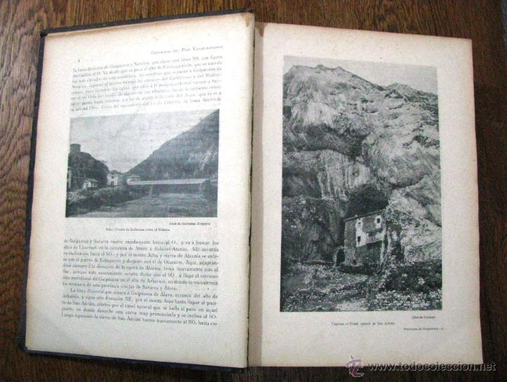 Libros antiguos: ANTIGUA GEOGRAFIA GRAL PAIS VASCO NAVARRO GUIPUZCOA SERAPIO MUGICA ALBERTO MARTIN BARCELONA C 1900 - Foto 14 - 47058113