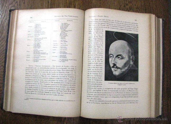 Libros antiguos: ANTIGUA GEOGRAFIA GRAL PAIS VASCO NAVARRO GUIPUZCOA SERAPIO MUGICA ALBERTO MARTIN BARCELONA C 1900 - Foto 24 - 47058113
