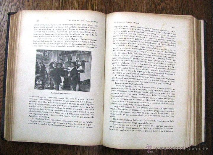 Libros antiguos: ANTIGUA GEOGRAFIA GRAL PAIS VASCO NAVARRO GUIPUZCOA SERAPIO MUGICA ALBERTO MARTIN BARCELONA C 1900 - Foto 25 - 47058113