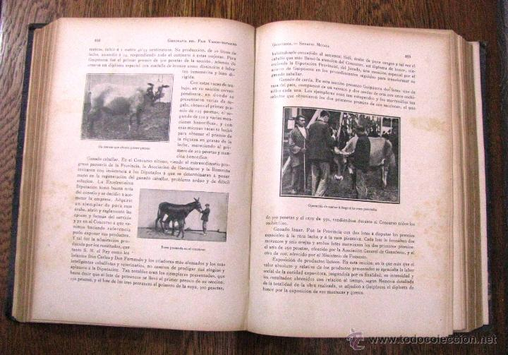 Libros antiguos: ANTIGUA GEOGRAFIA GRAL PAIS VASCO NAVARRO GUIPUZCOA SERAPIO MUGICA ALBERTO MARTIN BARCELONA C 1900 - Foto 26 - 47058113