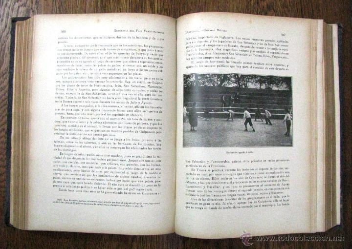 Libros antiguos: ANTIGUA GEOGRAFIA GRAL PAIS VASCO NAVARRO GUIPUZCOA SERAPIO MUGICA ALBERTO MARTIN BARCELONA C 1900 - Foto 27 - 47058113