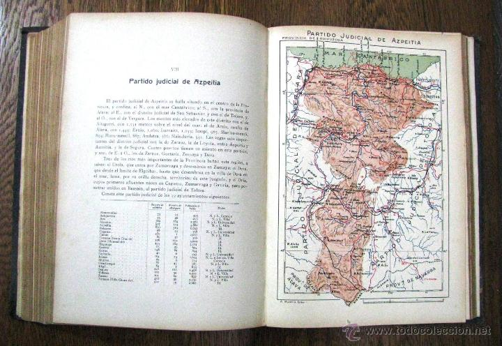 Libros antiguos: ANTIGUA GEOGRAFIA GRAL PAIS VASCO NAVARRO GUIPUZCOA SERAPIO MUGICA ALBERTO MARTIN BARCELONA C 1900 - Foto 29 - 47058113
