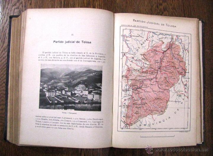 Libros antiguos: ANTIGUA GEOGRAFIA GRAL PAIS VASCO NAVARRO GUIPUZCOA SERAPIO MUGICA ALBERTO MARTIN BARCELONA C 1900 - Foto 30 - 47058113